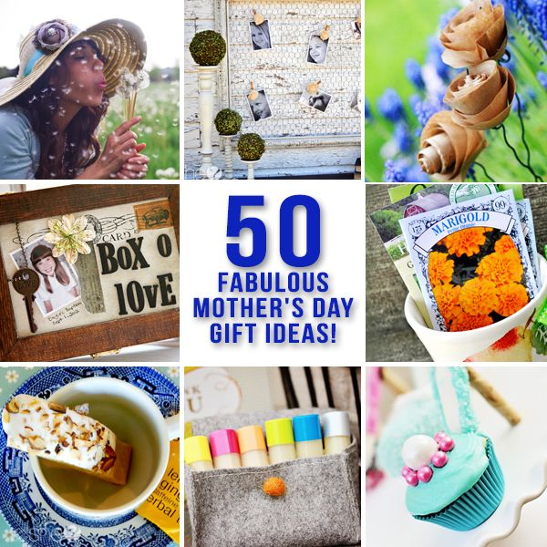50 Sure To Please Gift Ideas: 50 Fabulous Mother's Day Gift Ideas