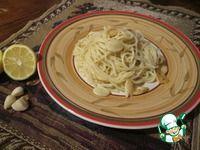 Паста с чесноком и лимоном ингредиенты