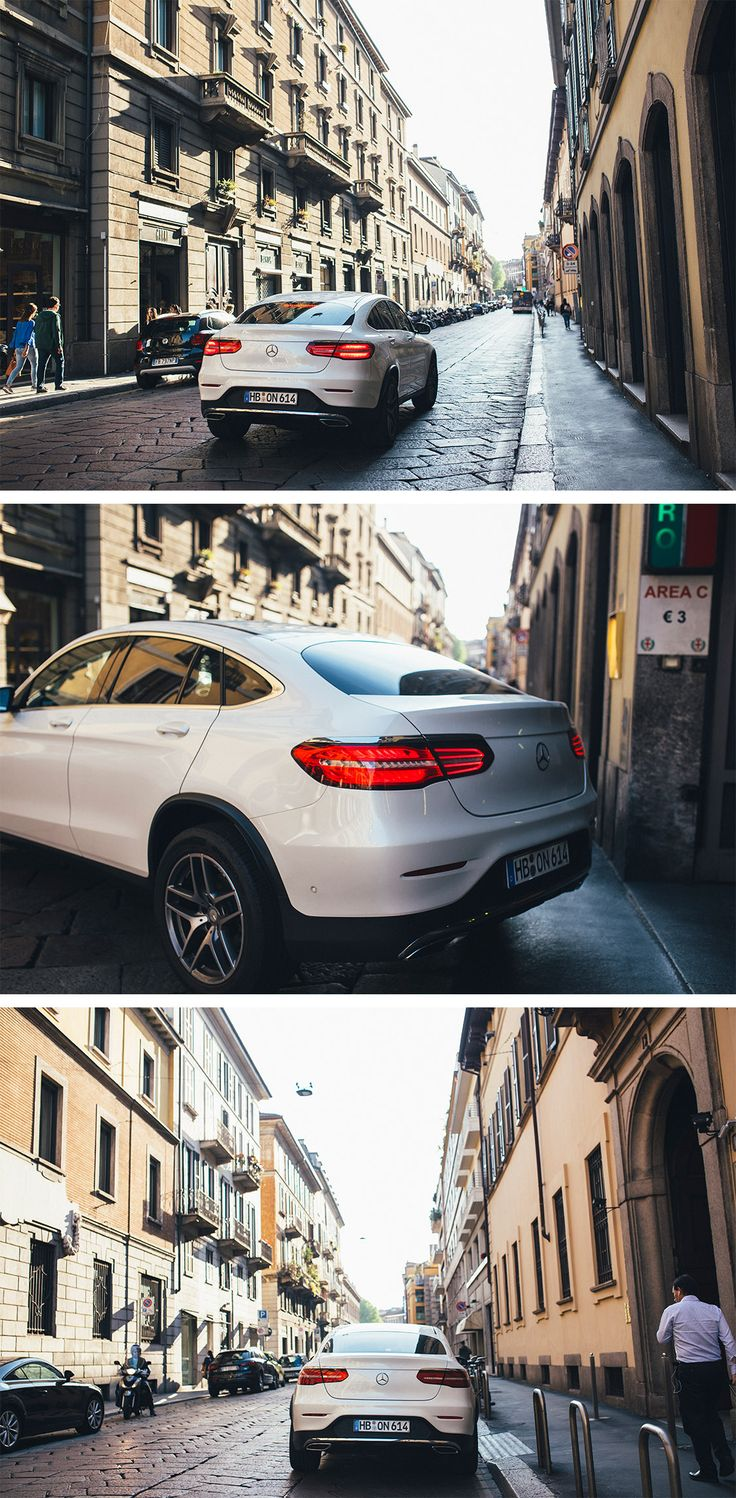 Exploring new cities with the Mercedes-Benz GLC Coupé.  Photos by Kristina Hader (www.kristinahader.com) for #MBsocialcar