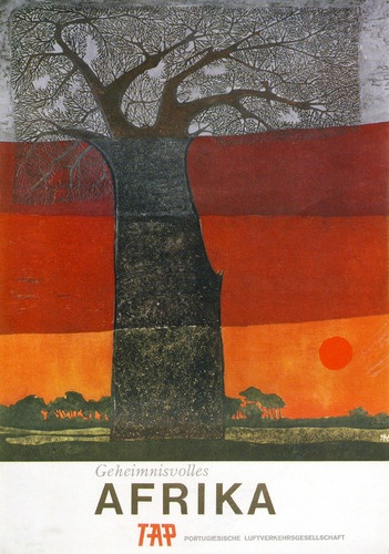 Afrika (vintage poster from Air Portugal)