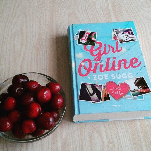 Today's relaxed reading  by Zoella  #befabulous #book #photo#bookstagram #brno #cherries #instagram #Zoella #GirlOnline #great#happy#Story#lazy#lazytime##love#beuty#successful#health#fitness#healthylifestyle#lifestyle#food#women#fruit#ZoeSugg
