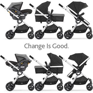 chicco urban 6in1 modular stroller