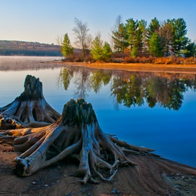 Algonquin Park, Ontario, Canada. Every summer and fall <3.
