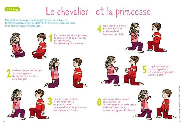 Yoga des petits - Le chevalier et la princesse (Apprivoiser l'autre)