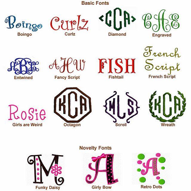Free Monogram Fonts Initials | monogram fonts | Flickr - Photo Sharing!