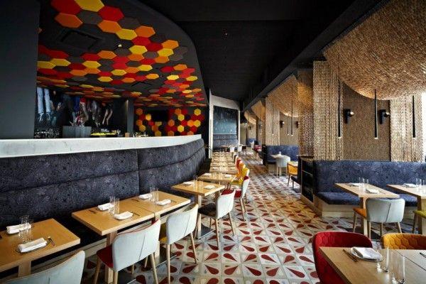 Juli Capella diseña Jaleo en Washington. Diversión y creatividad en el restaurante de tapas de José Andrés.