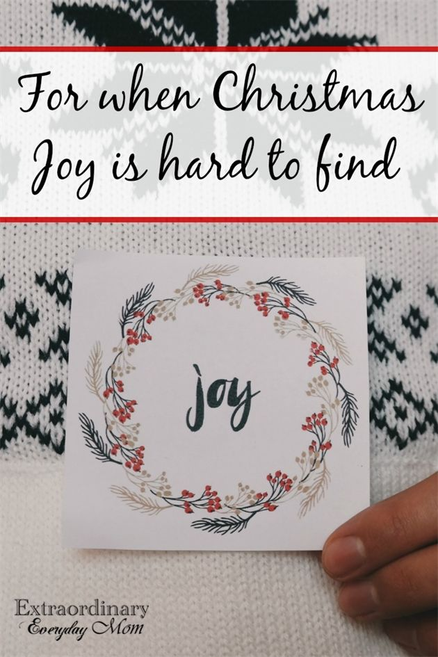 Let's talk about the real giver of Joy