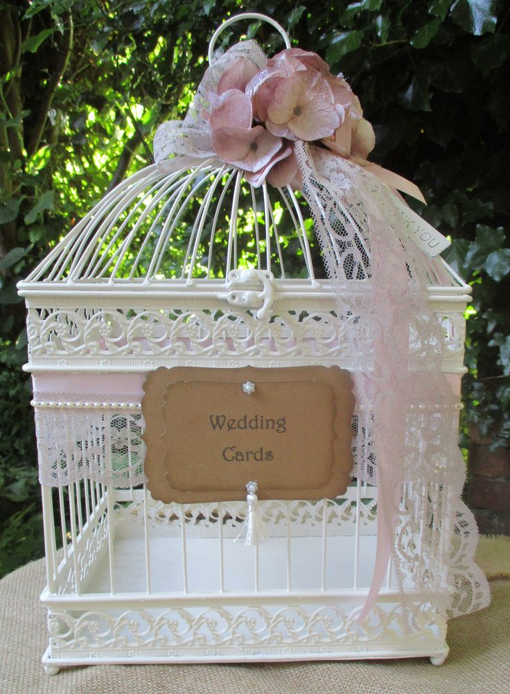 wedding gift card holders%0A Birdcage Wedding Card Holder Post Box  Card Sign  Gift Cards Bridal  Shower