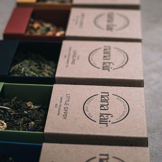 Mondays line up… #nanafair #looseleaf #tea