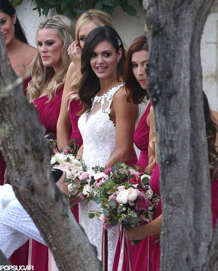 Exclusive: See Bachelorette Desiree Hartsock's Wedding Pictures!: Desiree Hartsock and Chris Siegfried were married in a stunning ceremony in Palos Verdes, CA, on Sunday, and we have the exclusive pictures!