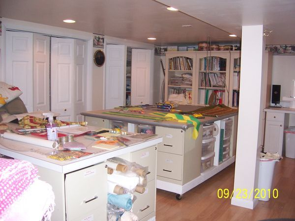 20 best Quilt studio ideas images on Pinterest | Sewing rooms ...