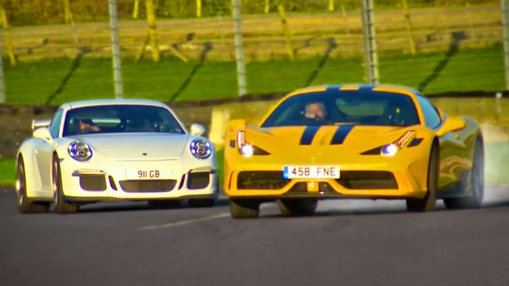 Ferrari 458 Speciale vs. Porsche 911 GT3 - Fifth Gear