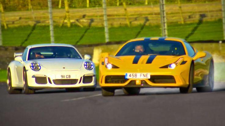 Ferrari 458 Speciale vs. Porsche 911 GT3 [Fifth Gear] #cars #autos #ferrari #porsche #ferrari458 #porsche911 #ferrari458speciale #porsche911gt3 #hot #performance #fifthgear
