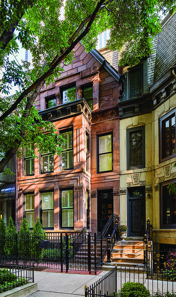 Celebrity Houses And Real Estate Chicago Brownstone Brownstone Homes New York Brownstone