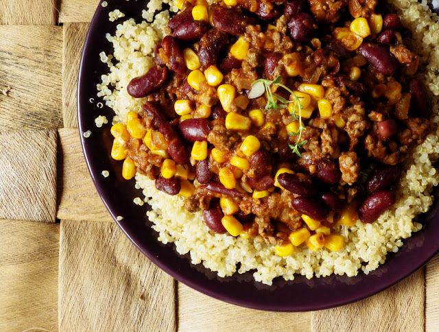 Quinoa Raz!: Quinoa po meksykańsku