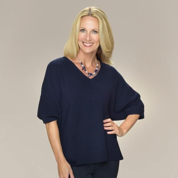 Contemporary 'Dolman' sleeved tunic knitted in a soft English stitch.   Knitted in 100% softest Baby Alpaca Relaxed fit