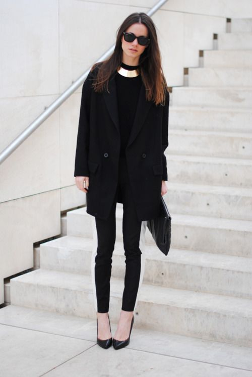 When in doubt...wear all black!