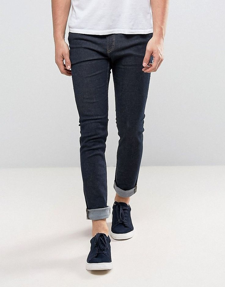 Cheap Monday Tight Skinny Jeans in Real Blue - Blue