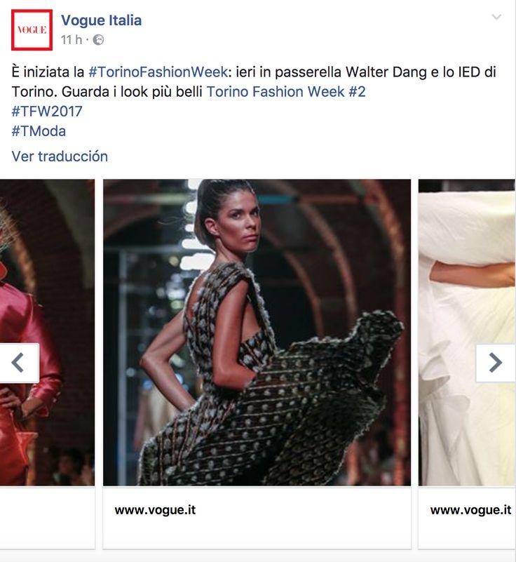 ANHET on Vogue Italia #TorinoFashionWeek