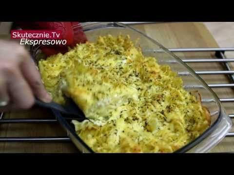 Macaroni pie. Najprostsza zapiekanka makaronowa :: Ekspresowo|SkutecznieTv - YouTube