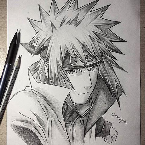 30 min messy sketch of #Minato (: | Naruto | Naruto ...