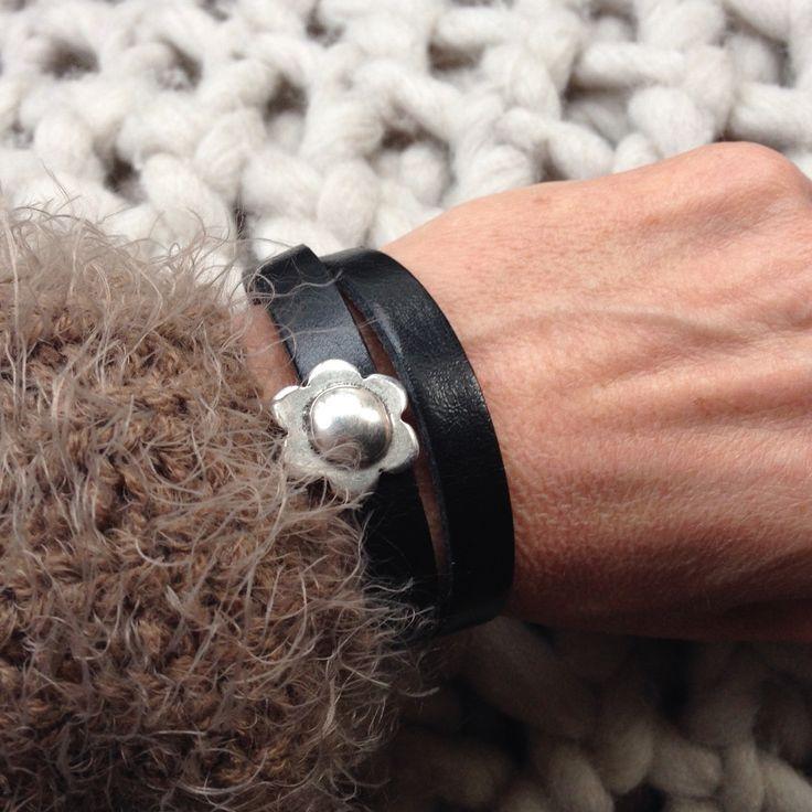 #label160 #handmade #sieraden #leer #stoer #armband #armbanden #jewelry #bracelet #armcandy #leather