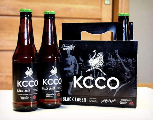 KCCO Black Lager from The Chive  Redhook Brewery