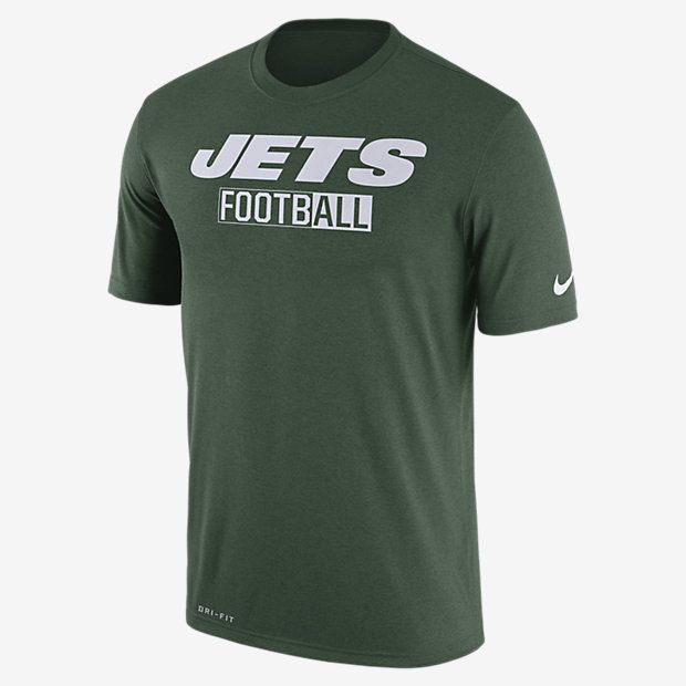 represent your team the nike legend all football (nfl jets) mens t shirt nike new york
