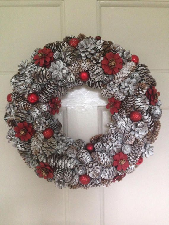 Hey, I found this really awesome Etsy listing at https://www.etsy.com/uk/listing/568153361/christmas-wreath-pinecone-wreath