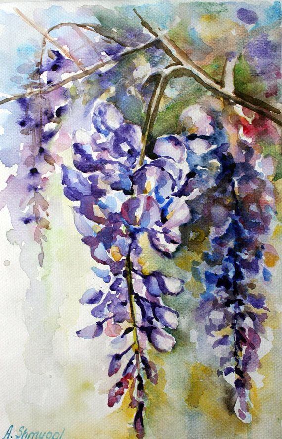 Check out this item in my Etsy shop https://www.etsy.com/listing/498045321/watercolor-flowers-original-watercolor