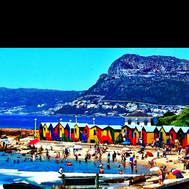 St. James Beach. Capetown. SA.
