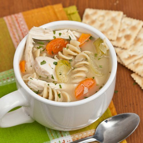 Hearty Turkey Chicken Noodle Soup Thanksgiving Chicken