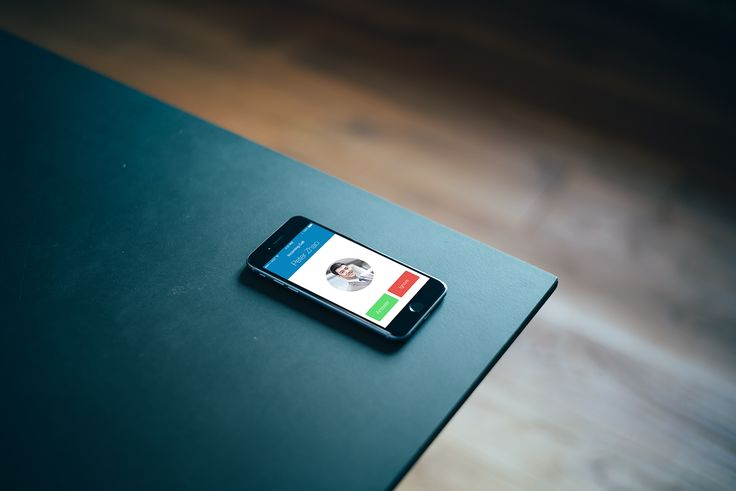Iphone 6 on the table