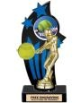 Trophy Direct's Black and Blue Backdrop Softball Trophy makes a wonderful presentation award. Backdrop Trophies feature a beautiful figurine and include an activity insert of your choice!