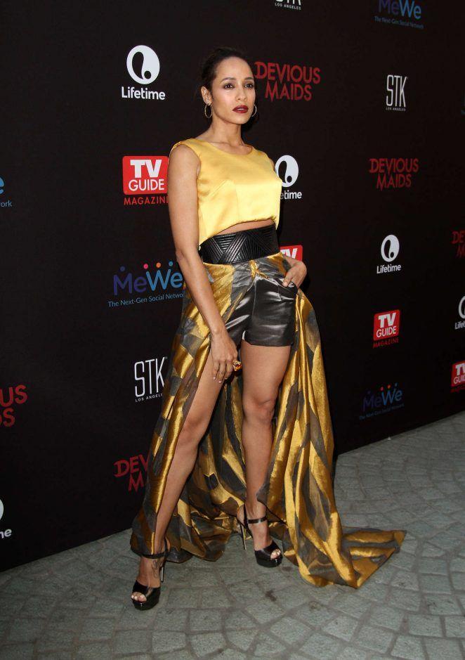 dailyactress:     Dania Ramirez  Devious Maids Season 4 Premiere in Los Angeles