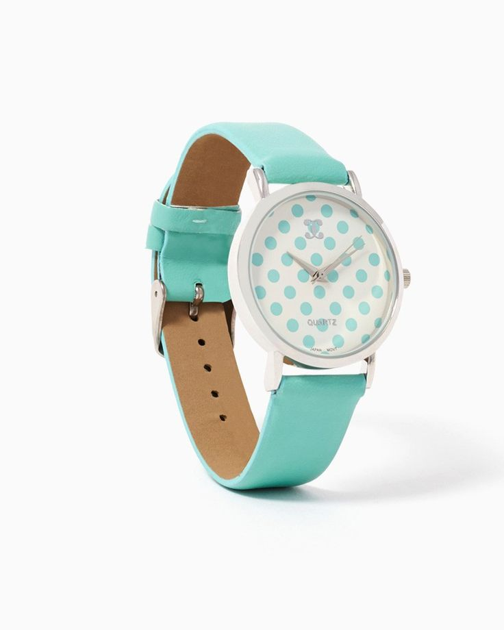 #MintCondition Pattern watches are all the rage - PAIGE ME PLEASE POLKA DOT WATCH