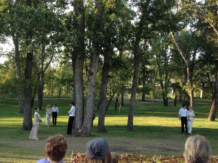 A happy ending to A Midsummer Night's Dream in Prince's Island Park.