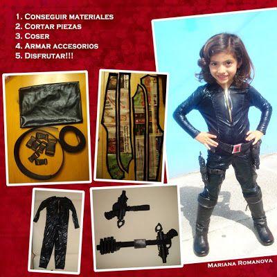 Disfraz de Natasha Romanova  - Natahasa Romanova costume
