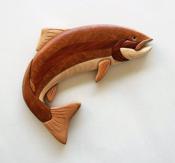 Best images about carved fish on pinterest wood