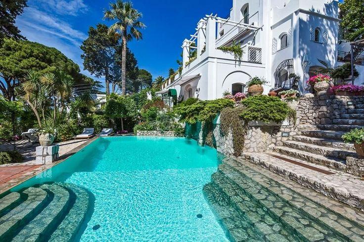 5. Villa Le Scale en Capri, Italia