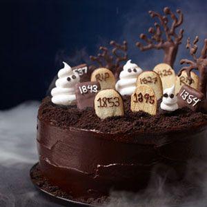 21 étonnants Halloween Desserts