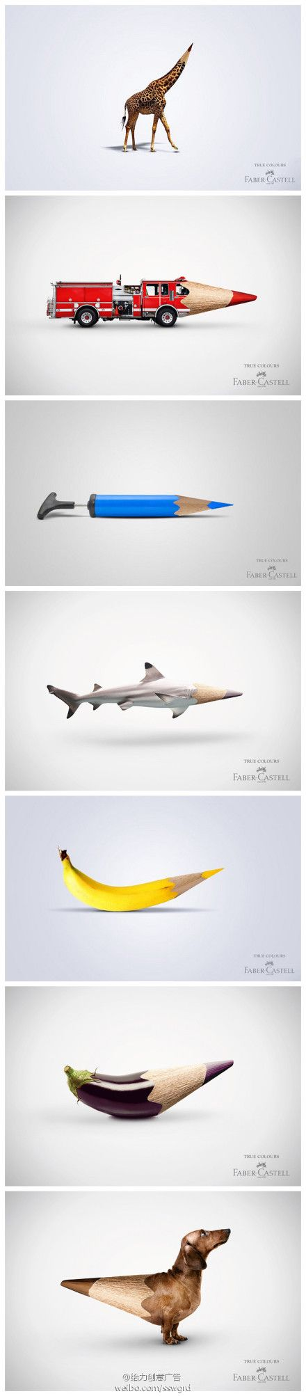 "Faber-Castell ""True Colours"" #ad #adv #ads #marketing #creative"