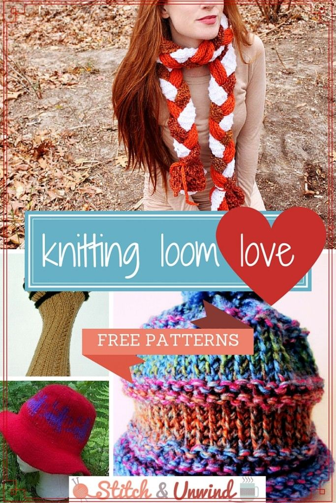 Easy knitting loom patterns that anyone can make!