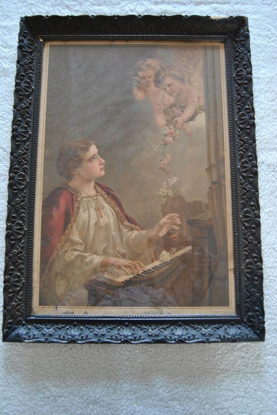 7 Best Saint Cecilia Images On Pinterest Saints Santos