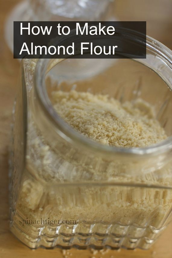 How to Make Blanched Almond Flour especially nice for Macarons. #almond flour #macarons