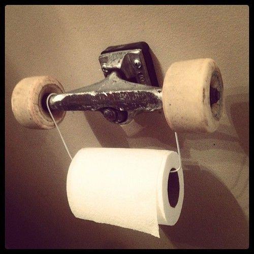 brand0llaz:  cls18:  Independent Trucks Toilet Paper Holder!  Wow, ass wiping just got better.