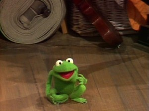Robin (Kermit's nephew), the cutest frog ever in my opinion