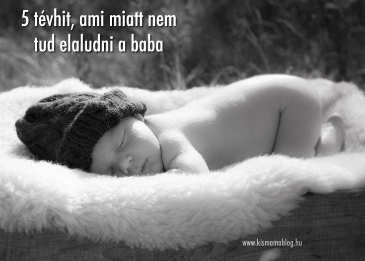 5 tévhit, ami miatt nem tud elaludni a baba