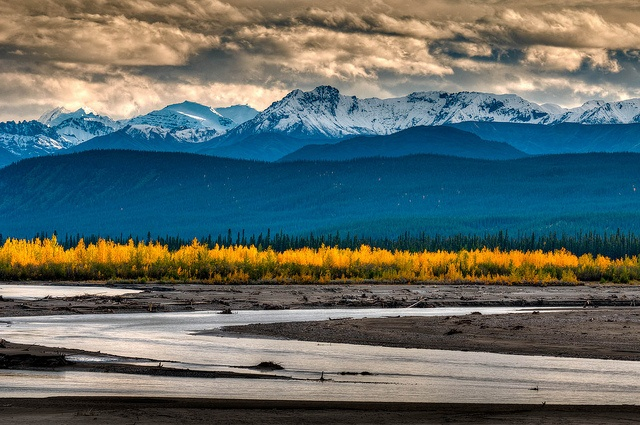 St. Elias Mountains, Kluane National Park, Yukon, Canada.  Second favourite place on Earth!