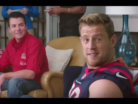 JJ Watt Commercials Compilation All Ads